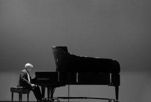 Photo by Tom Tabotowski, taken at Dr. Abeyaratne's concert at the Secrest Auditorium in Zanesville, Ohio.